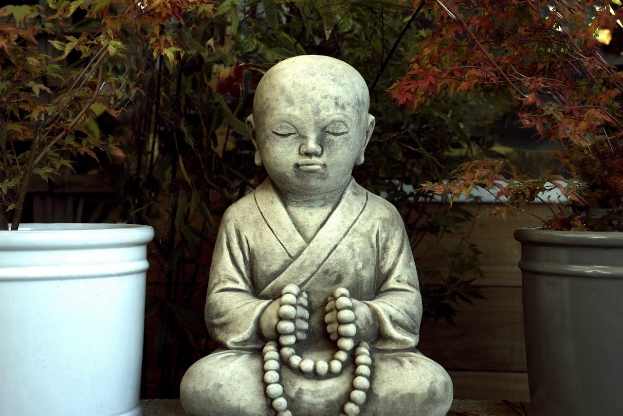 Buddhafigur für den Garten