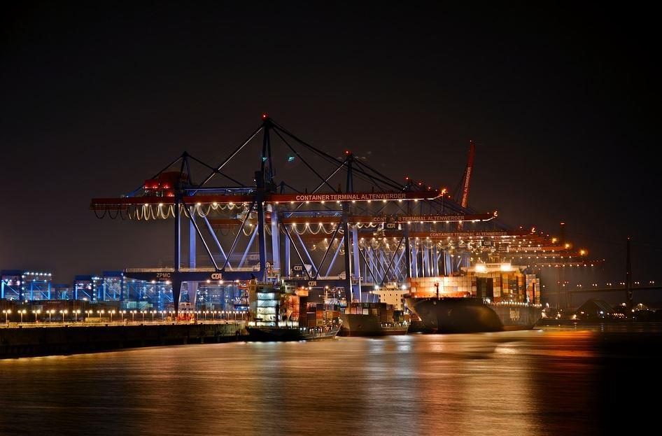 Transport von Gütern über den Seeweg
